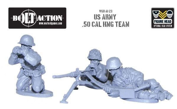 Bolt Action: (USA) Army 50cal HMG team