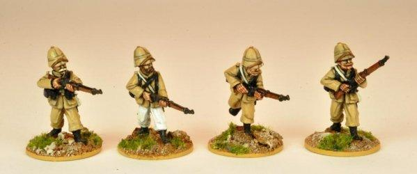 28mm March or Die: Legion in Troupes Colonial Uniform/Sun Helmet