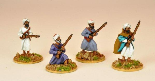 28mm March or Die: Morrocans Skirmishing I