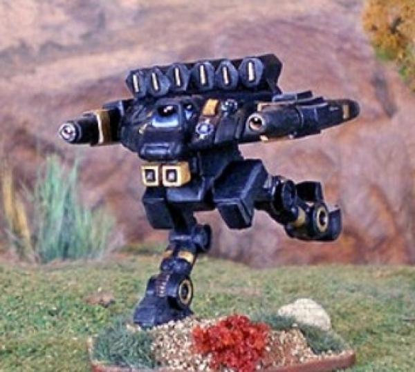 BattleTech Miniatures: Nyx Mech w/Lance Variant Parts (TRO 3085)