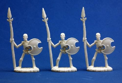 Dark Heaven Bones: Skeletal Spearmen (3)