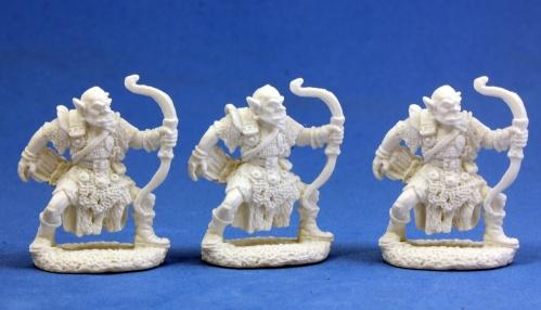 Dark Heaven Bones: Orc Archers (3)