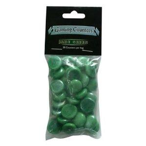 Dragon Shields Counters: Jade Green