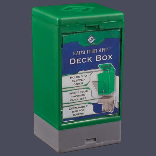 Game Accessories: Deck Boxes: Green