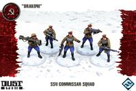 Dust Tactics: SSU Commissar Squad