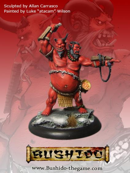 Bushido Miniatures: (Savage Wave) Kemono & Ushi, The Slaver