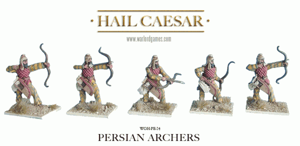 28mm Ancients - Ancient Greeks: Persian Archers (8)