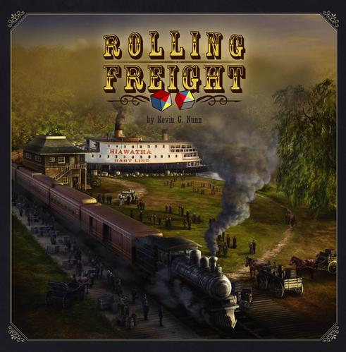 Rolling Freight: The Cargo Rail Game!