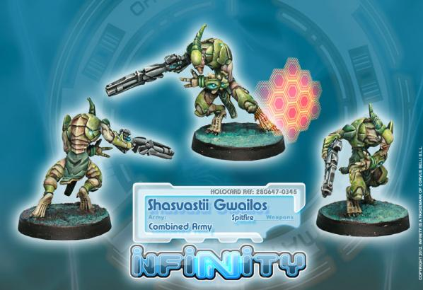 Infinity (#345) Combined Army: Gwailos (Spitfire) (1)