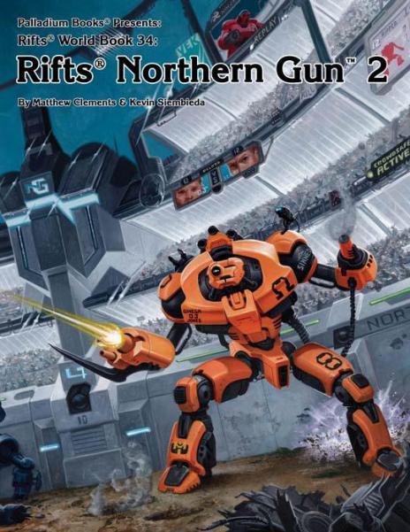Rifts RPG - World Book: Northern Gun Two
