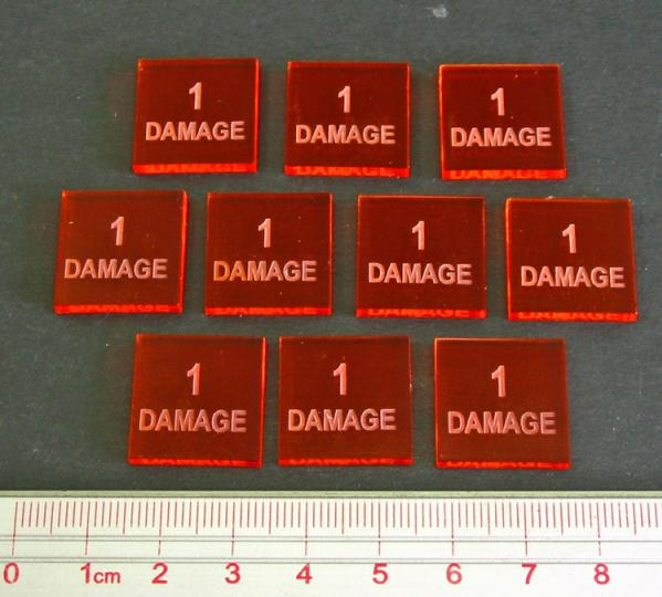 1 Damage Tokens (Set of 10)