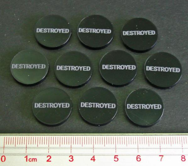 Destroyed Tokens (Set of 10)