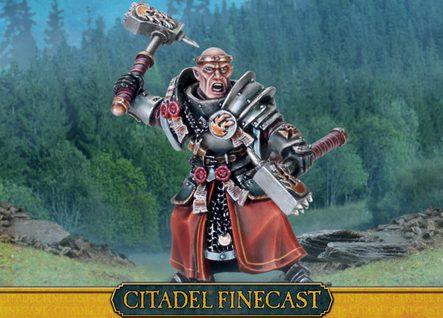Citadel Finecast Resin: Empire Warrior Priest
