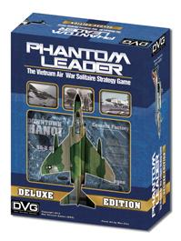Phantom Leader: The Vietnam Air War Solitaire Strategy Game (Deluxe Edition)