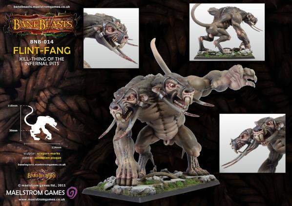 Darklands: Flint-Fang, Kill-Thing of the Infernal Pits