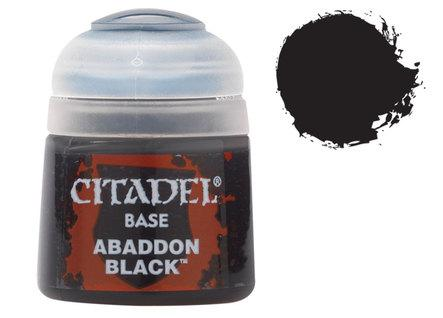 Citadel Base Paints: Abaddon Black