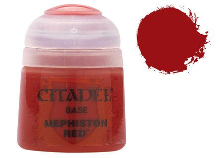 Citadel Base Paints: Mephiston Red