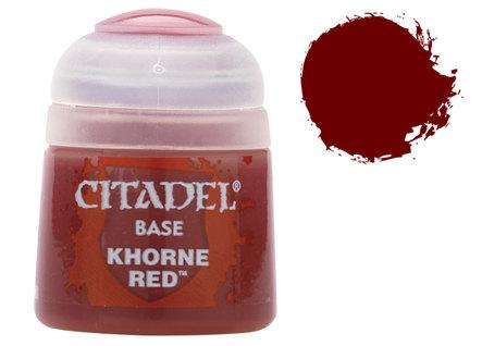 Citadel Base Paints: Khorne Red