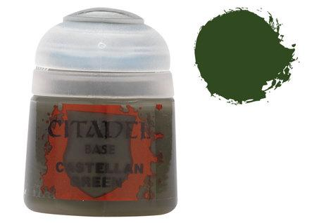 Citadel Base Paints: Castellan Green