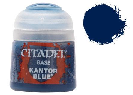 Citadel Base Paints: Kantor Blue