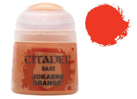 Citadel Base Paints: Jokaero Orange