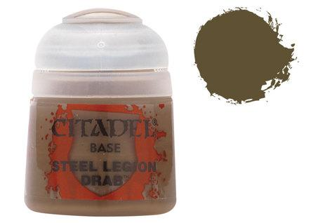 Citadel Base Paints: Steel Legion Drab