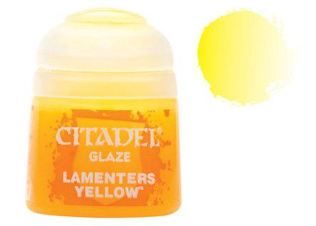 Citadel Glaze Paints: Lamentors Yellow