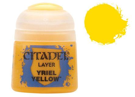 Citadel Layer Paints: Yriel Yellow
