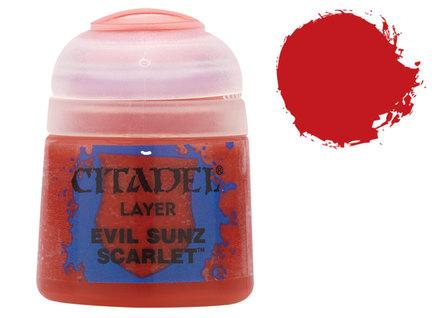 Citadel Layer Paints: Evil Sunz Scarlet
