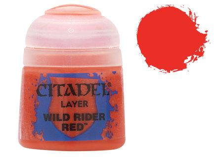 Citadel Layer Paints: Wildrider Red