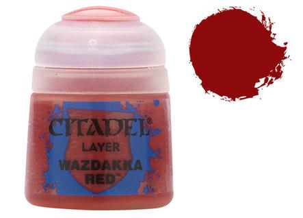Citadel Layer Paints: Wazdakka Red