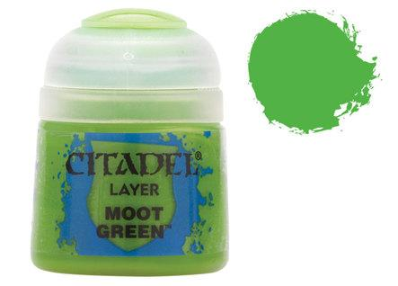 Citadel Layer Paints: Moot Green