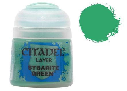 Citadel Layer Paints: Sybarite Green