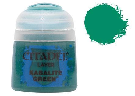 Citadel Layer Paints: Kabalite Green