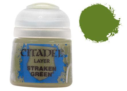 Citadel Layer Paints: Straken Green