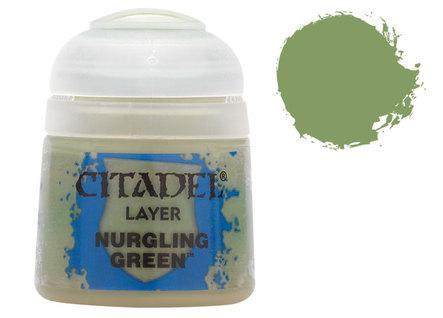 Citadel Layer Paints: Nurgling Green