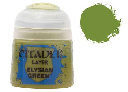 Citadel Layer Paints: Elysian Green