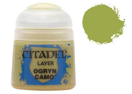 Citadel Layer Paints: Ogryn Camo