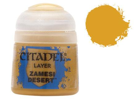 Citadel Layer Paints: Zamesi Desert