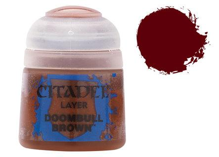 Citadel Layer Paints: Doombull Brown