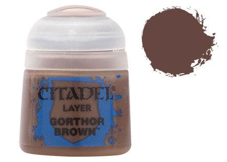 Citadel Layer Paints: Gorthor Brown
