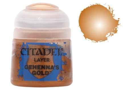 Citadel Layer Paints: Gehenna's Gold