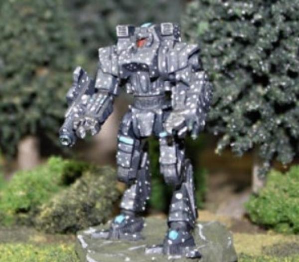 BattleTech Miniatures: Beowulf IIC Mech (TRO Prototypes)