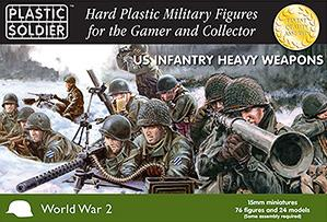 15mm WWII (American): Heavy Weapons 1944-45