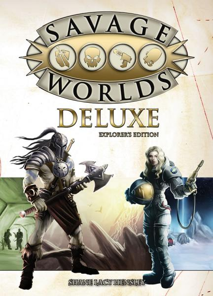 Savage Worlds RPG - Deluxe Explorer's Edition