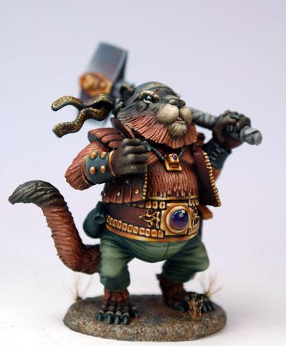 Critter Kingdoms: Bolo, Marmot Warrior