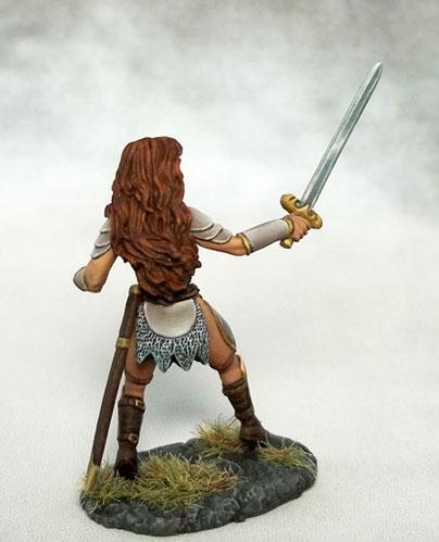 Female Fighter w/Long Sword