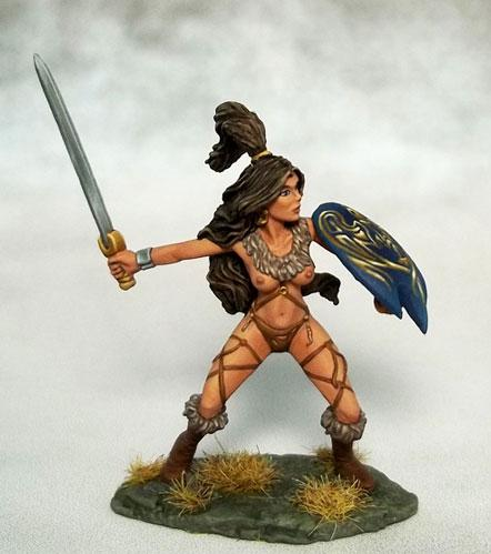 Amazon Warrior w/Sword & Shield