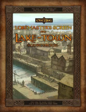 The One Ring RPG: Loremaster's Screen and Lake-Town Sourcebook