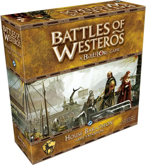 Battles of Westeros Expansion: House Baratheon Army